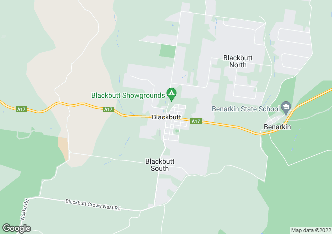 Map for Lot 2 Stretton Drive, BLACKBUTT 4306
