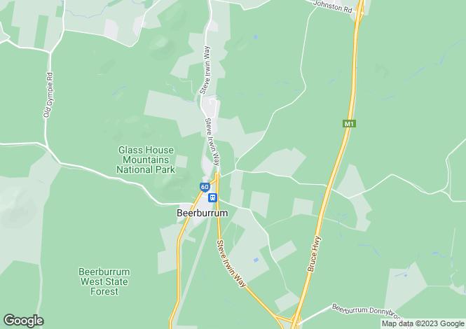 Map for 83 Beerburrum Road, Beerburrum 4517
