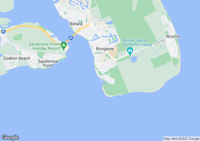 Map for BONGAREE 4507