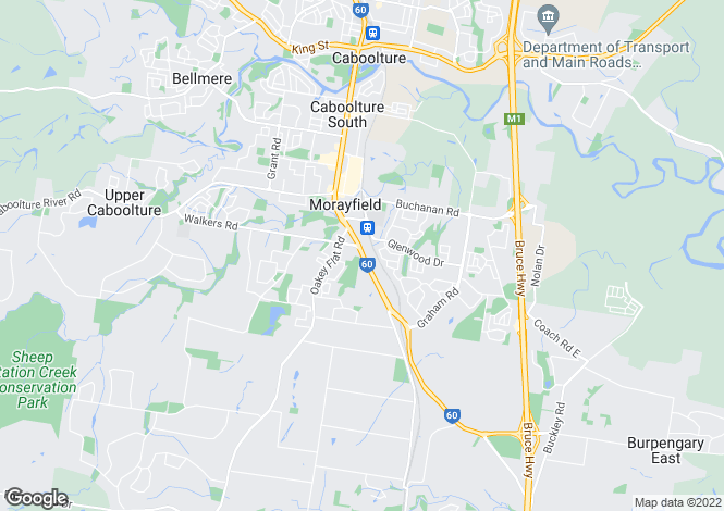 Map for Morayfield 4506