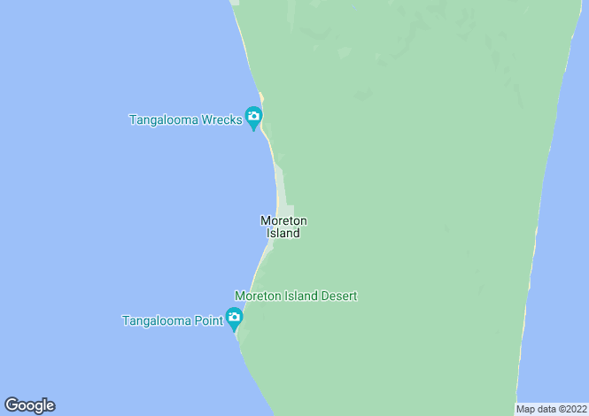 Map for 27 Nautilus Drive, Tangalooma 4025