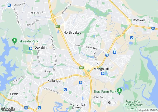 Map for Australia