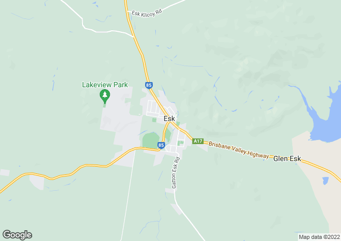 Map for 183 Brisbane Valley Highway, ESK 4312