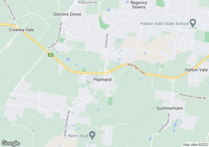 Map for 1/7 Richmond Terrace, PLAINLAND 4341