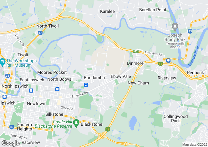 Map for 3 Bonnie Dundee Court, BUNDAMBA 4304