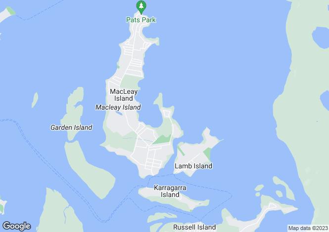 Map for 33 Blue Bay Crescent, PERULPA ISLAND 4184
