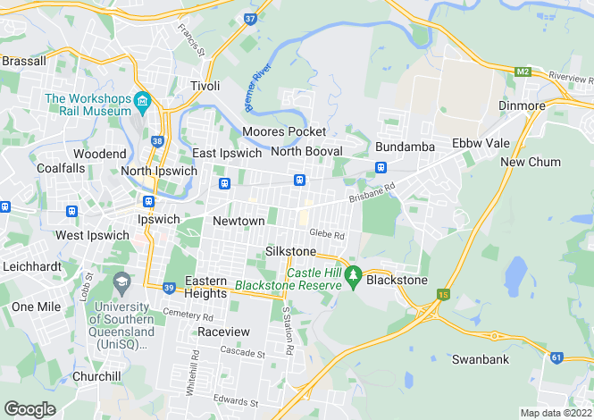 Map for 10/23 South Station Road, BOOVAL 4304