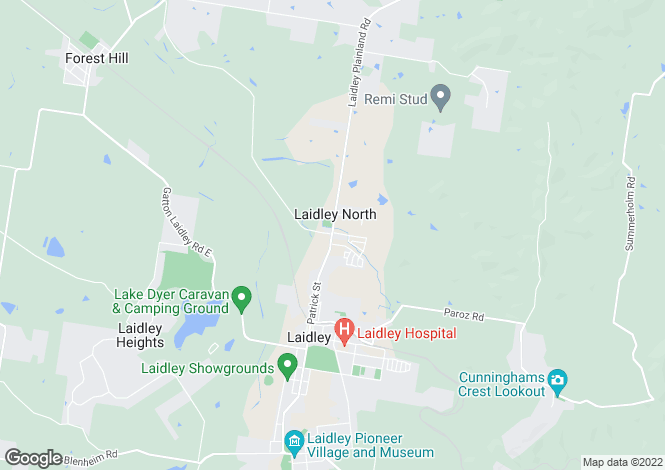 Map for 33 Cunningham Avenue, LAIDLEY NORTH 4341