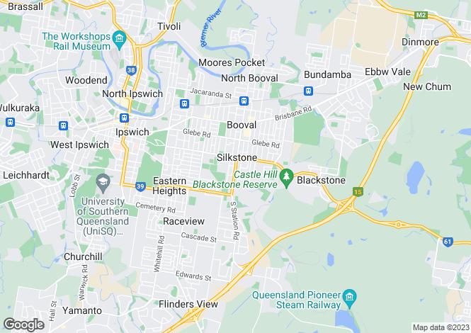 Map for Lot 2- 68 Alice Street, SILKSTONE 4304
