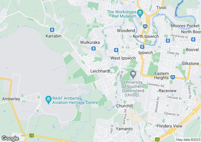 Map for 4 Fellette Street, LEICHHARDT 4305