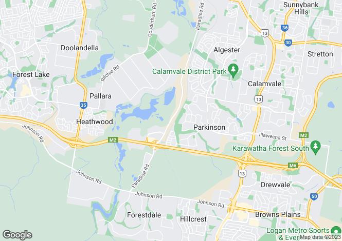 Map for 3/8 Esther Court, LARAPINTA 0875