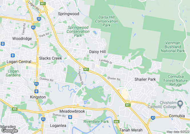 Map for 35/125 Chatswood Road, DAISY HILL 4127