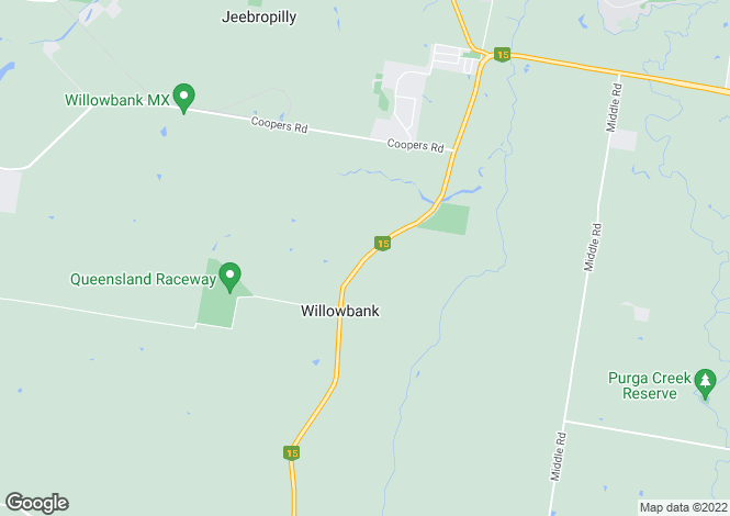 Map for WILLOWBANK 4306