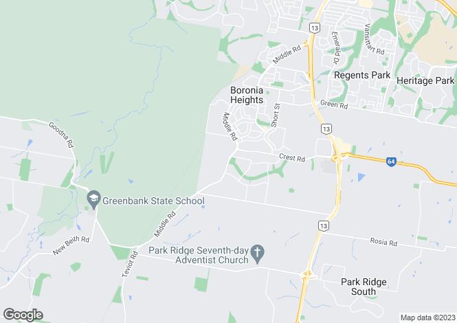 Map for 16-28 Reggie Drive, GREENBANK 4124