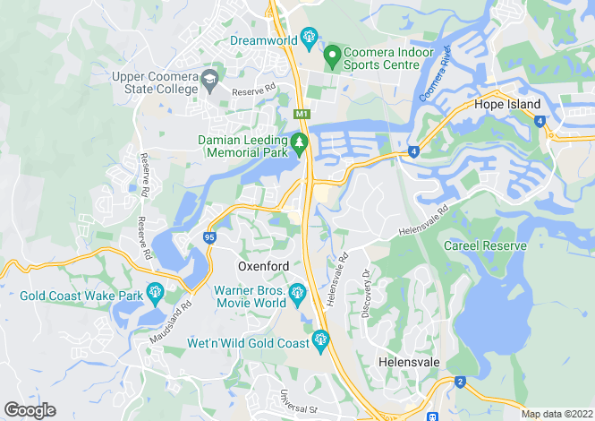 Map for OXENFORD 4210