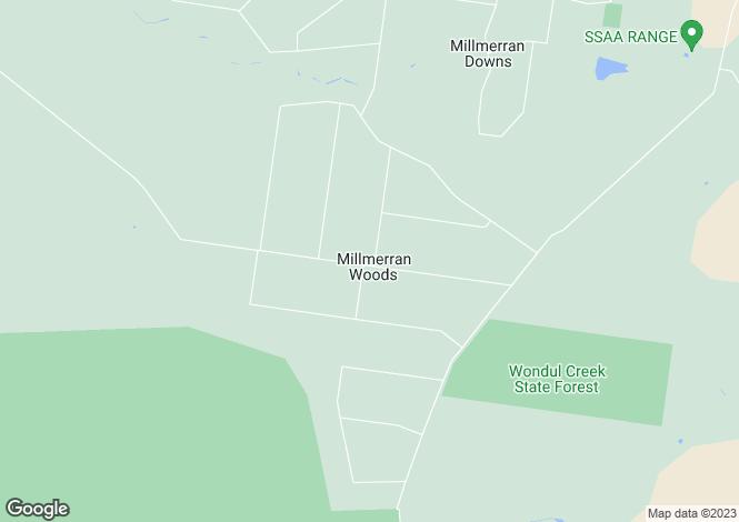 Map for Lot 26 Millmerran Woods Drive, Millmerran Woods 4357
