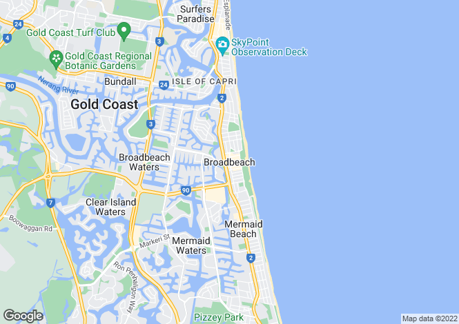 Map for BROADBEACH 4218