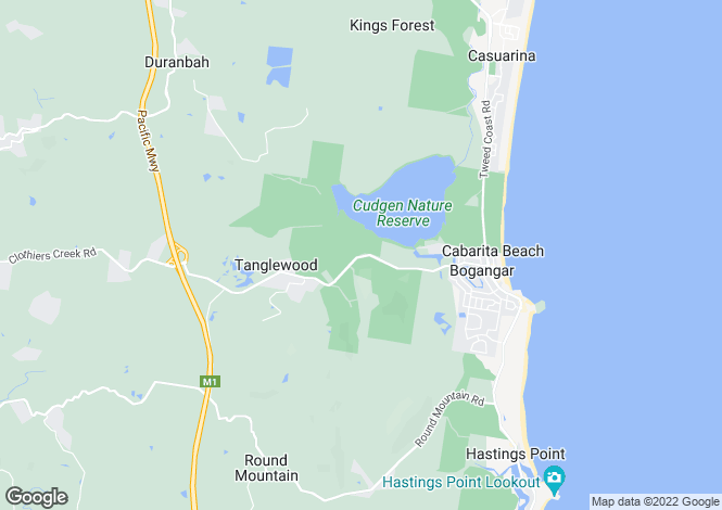 Map for 30 Clothiers Creek Road, TANGLEWOOD 2488