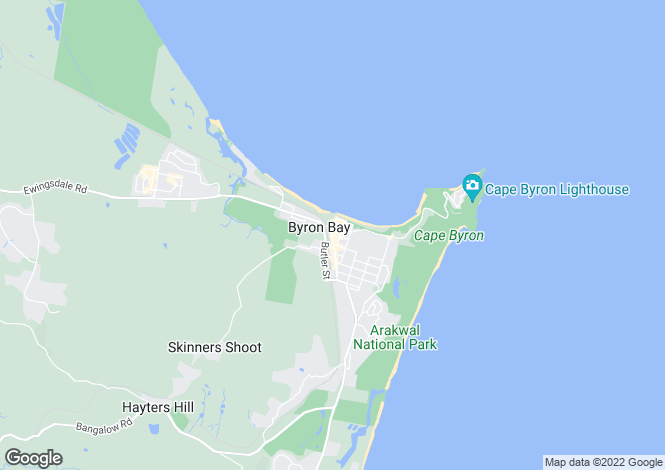 Map for 83 St Helena Road, BYRON BAY 2481