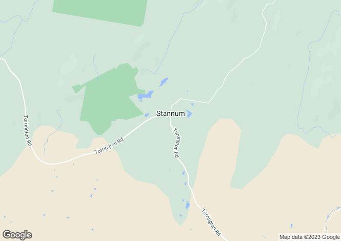 Map for 1501 Torrington Road, STANNUM 2371