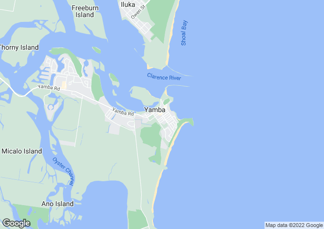 Map for Unit 25/20 Pacific Parade, YAMBA 2464