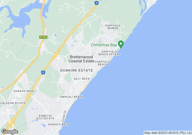 Map for Erf 272, Ballito, KwaZulu-Natal