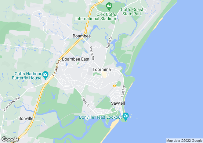 Map for Lots 1-6 Hulberts Road, TOORMINA 2452