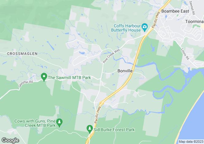 Map for Lot 9 Mimiwali Drive, BONVILLE 2450