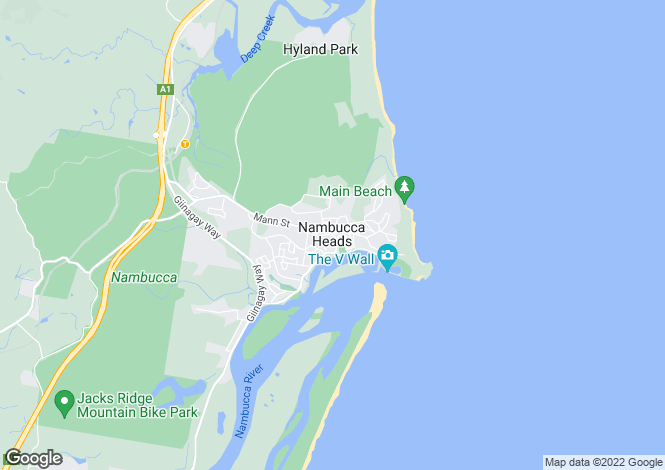 Map for 9C Waratah Court, NAMBUCCA HEADS 2448