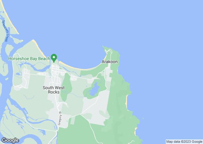 Map for Lot 5 Gap Beach Road, ARAKOON 2431