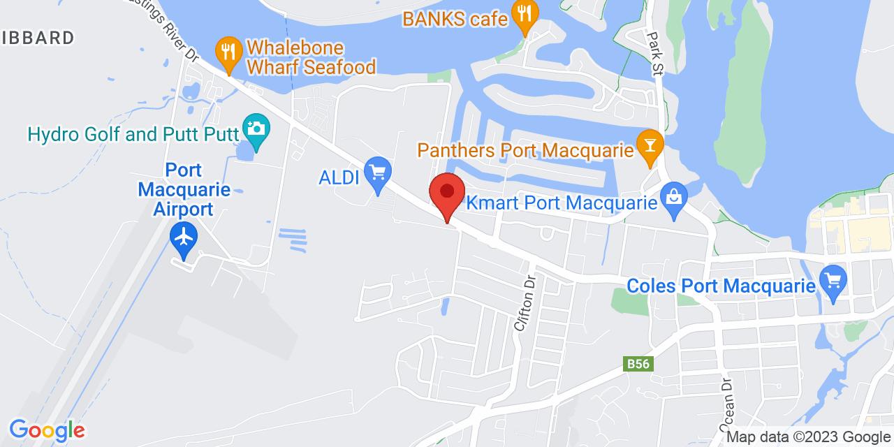 Port SsangYong Map