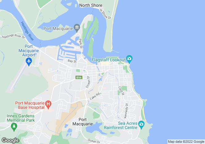 Map for 34 Arncliffe Avenue, PORT MACQUARIE 2444