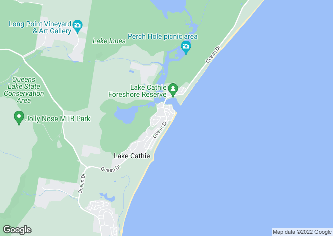 Map for 66 Chepana Street, LAKE CATHIE 2445