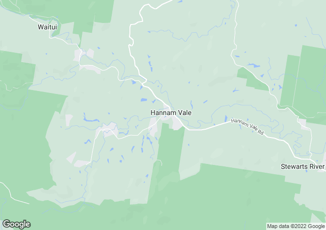 Map for HANNAM VALE 2443