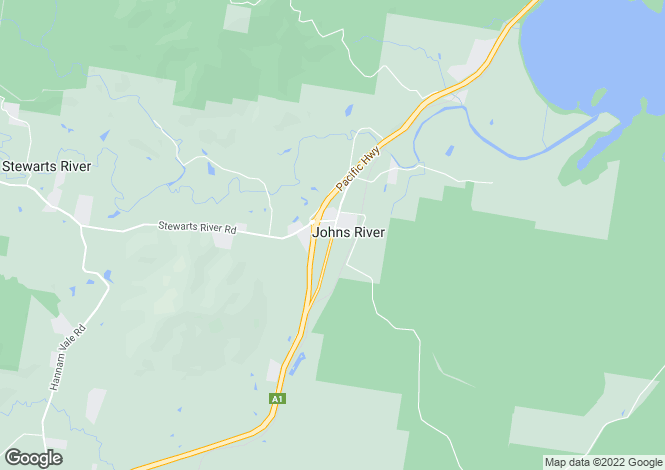 Map for 48 John's River Road, JOHNS RIVER 2443
