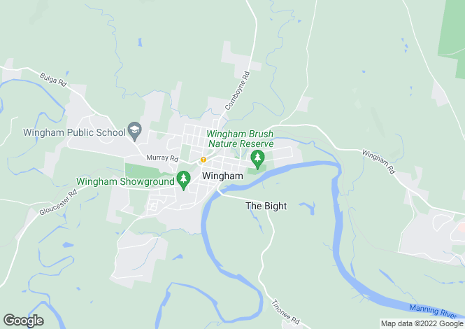 Map for WINGHAM 2429