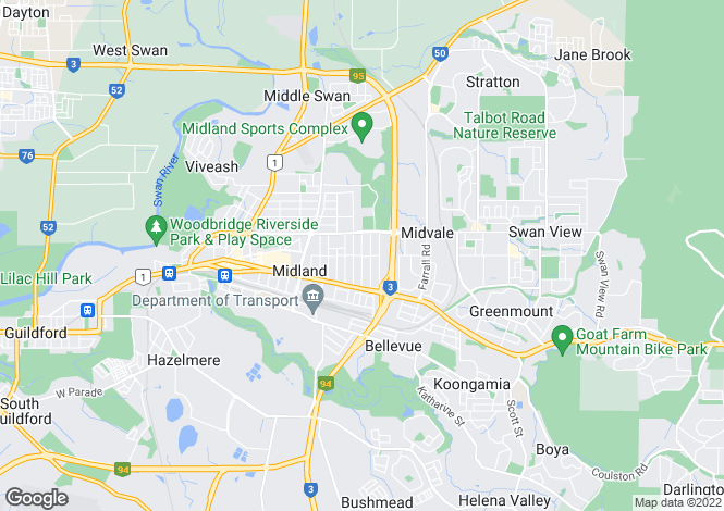 Map for 259 Morrison Road, MIDVALE 6056