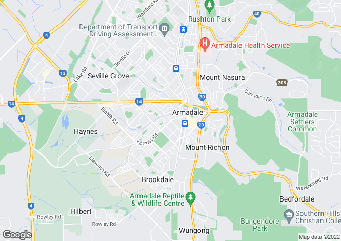 Map for Unit 6/25 Dale Road, ARMADALE 6112