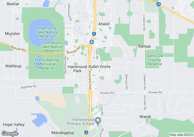 Map for 4 Yengo Mews, AUBIN GROVE 6164