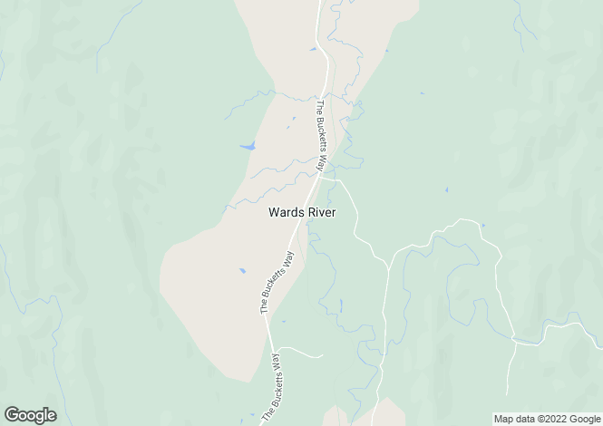 Map for 2453 Buckets Way, WARDS RIVER 2422