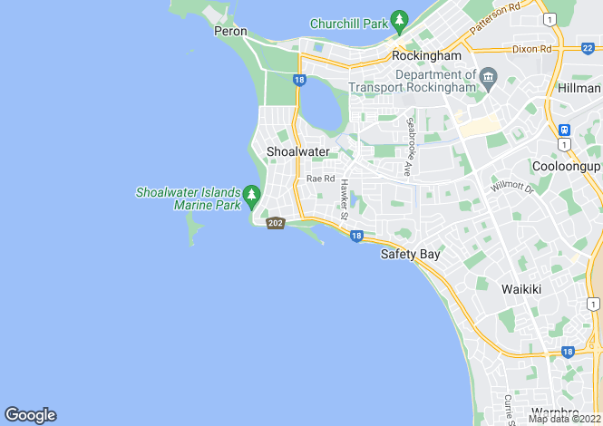 Map for 7 Acapulco Road, SAFETY BAY 6169