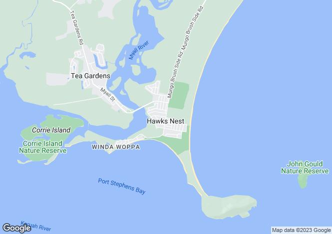 Map for 6/32 Binda Street, HAWKS NEST 2324