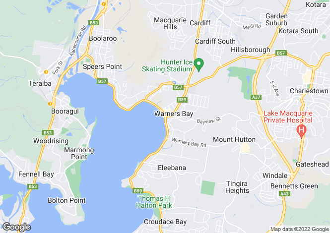 Map for 9/48 Fairfax Road, Warners Bay 2282