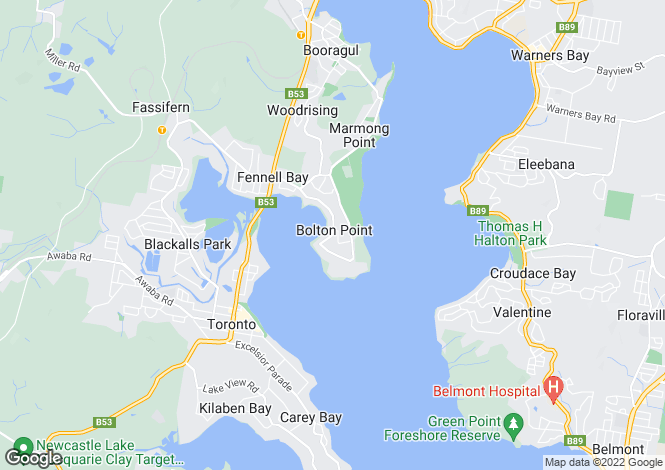 Map for 6 Jedda Place, BOLTON POINT 2283