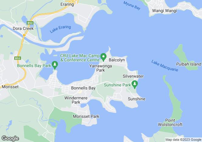 Map for 80 Yarrawonga Park Road, YARRAWONGA PARK 2264