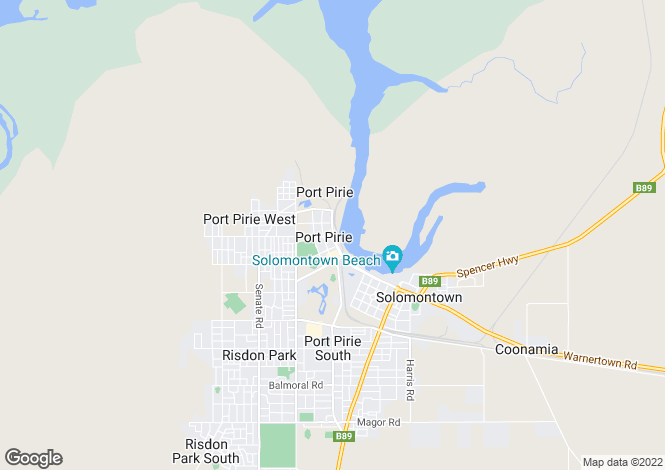 Map for 331 Anzac Road, PORT PIRIE 5540