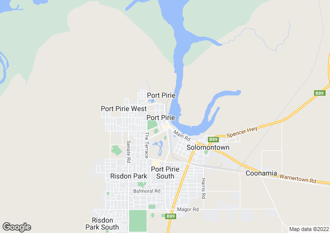 Map for Lot 32 Peterson Circuit, PORT PIRIE 5540