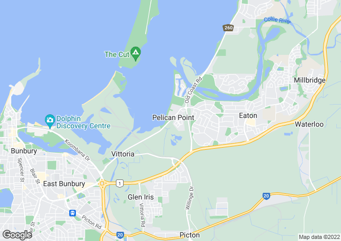 Map for 17/105 Old Coast Road, PELICAN POINT 6230