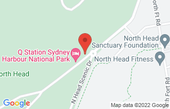 Map of 1 North Head Scenic Drive, Manly NSW 2095