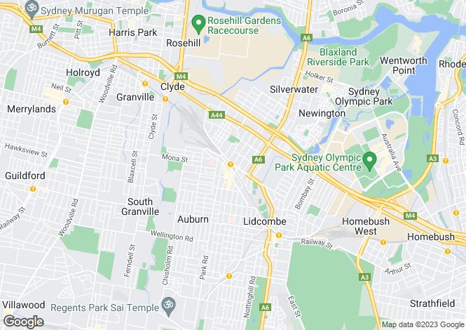 Map for 4605/57-72 Queen Street, AUBURN 2144
